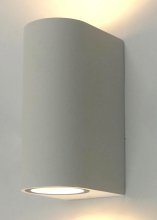 Уличный настенный светильник Arte Lamp A3102AL-2WH