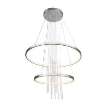 Подвесной светодиодный светильник Globo Titus 67092-50H