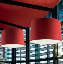 Подвесной светильник Axo Light Velvet SP VEL 160 Burgundy / White SPVEL160E27RBBC