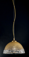 Подвесной светильник Vetri Lamp 1158/25 Ambra/Cristallo