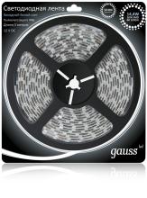 Светодиодная лента Gauss 5M холодный белый 14,4W 5050SMD 60LED/m 311000314