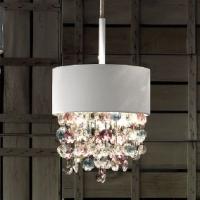 Подвесной светильник Masiero Ola S2 15 WH-M / Color crystal