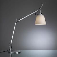 Настольная лампа Artemide Tolomeo basculante tavolo parchment 180 0947010A + A004030