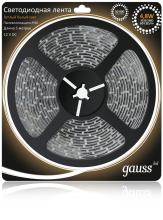 Светодиодная лента Gauss 5M теплый белый 4,8W 3528SMD 60LED/m 311000105