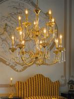 Люстра Kolarz Palladio 0224.87+5.3.T