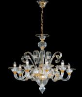Люстра Vetri Lamp 994/8 Cristallo/Ambra