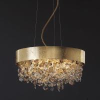 Подвесной светильник Masiero Ola S6 40 F01 / Amber crystal