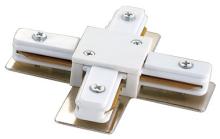 Соединитель для шинопроводов Х-образный (10575) Volpe UBX-Q121 K41 WHITE