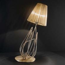 Настольная лампа IDL Flame 524/1L Namibia+gold