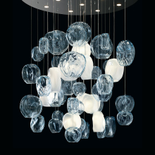 Подвесной светильник Barovier&Toso Hanami 7297/AQ