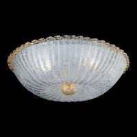 Потолочный светильник Vetri Lamp 960/50 Cristallo/Oro 24 Kt.