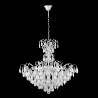 Подвесная люстра Crystal Lux Sevilia SP9 Silver