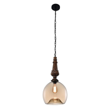 Подвесной светильник Crystal Lux Deco SP1 B Amber