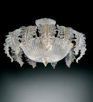 Потолочный светильник Vetri Lamp 1009/45 Cristallo/Oro