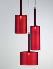 Подвесной светильник Axo Light Spillray SP SPILL 3 Rosso SPSPILL3RSCR12V