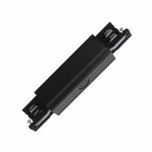 Соединитель для шинопроводов прямой внешний (09745) Uniel UBX-A12 Black