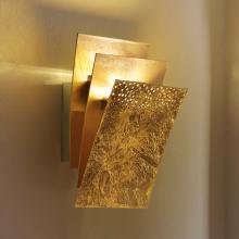 Настенный светильник Masca Virgola 1855/A2P Oro frise