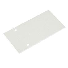 Заглушка для магнитного шинопровода боковая Donolux Cap DLM/White