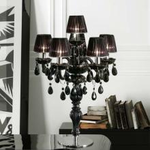 Настольная лампа Masiero Classica Milord TL5+1 VV Black / ORG/12/BK