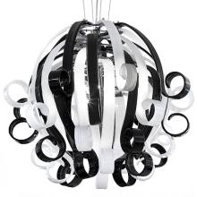 Подвесной светильник Voltolina Medusa 4L BICOLORE cromo