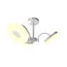 Потолочная светодиодная люстра IDLamp Frittelle 107/3PF-LEDWhitechrome