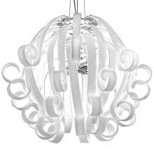 Подвесной светильник Voltolina Medusa 4L BIANCO cromo