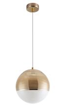 Подвесной светильник Crystal Lux Optima SP1 Gold D200