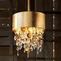 Подвесной светильник Masiero Ola S2 15 F01 / Amber crystal
