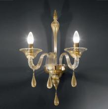 Бра Vetri Lamp 1184/A2 Oro 24 Kt.
