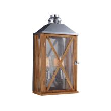 Уличный настенный светильник Feiss Lumiere FE/LUMIERE/M OAK