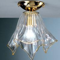 Потолочный светильник Vetri Lamp 93/PL22 Cristallo/Oro