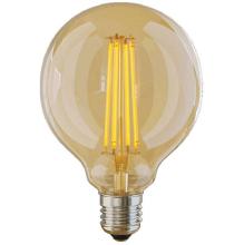 Лампа светодиодная E27 6W 2800K золотая VG10-G95GE27warm6W 7084