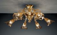 Потолочная люстра Vetri Lamp 941/6 Ambrato