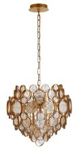 Подвесной светильник Crystal Lux Deseo SP6 D460 Gold