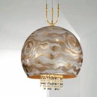 Подвесной светильник Kolarz Luna 0392.31+1XL.3.Aq.Ch + 0392.SetL/XL.3.ET