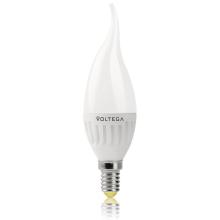 Лампа светодиодная E14 6W 2800К матовая VG1-CW2E14warm6W-C 5719