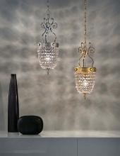 Подвесной светильник Masiero Classica Elegantia 1 G04-G06 Cut crystal