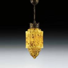 Подвесной светильник MM Lampadari Rococo 6858/1 11 V2493 Yellow