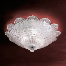Потолочный светильник MURANOdue Gallery Penelope PL45 Cristallo Graniglia 0000368