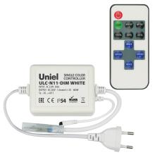 Контроллер для светодиодных одноцветных лент 220В (UL-00002277) Uniel ULC-N11-Dim White