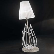 Настольная лампа IDL Flame 524/1L white+nickel