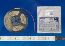 Светодиодная лента Uniel (UL-00002250) ULS-2835-120LED/m-8mm-IP65-DC12V-9,6W/m-5M-RED