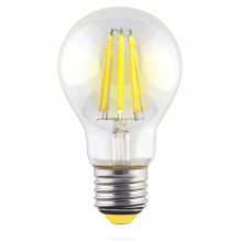 Лампа светодиодная филаментная E27 15W 4000К прозрачная VG10-A1E27cold15W-F 7103