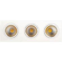 Встраиваемый светодиодный светильник Horoz 3X10W 6400К белый 016-022-0030 (HL6713L)