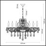 Подвесная люстра Odeon Light Bocciolo 3946/8