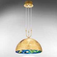 Подвесной светильник Kolarz Aura 0395.31+1L.3.Aq.BG