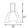 Подвесной светодиодный светильник SLV Soberbia 53 165451