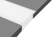 Встраиваемый алюминиевый профиль Donolux DL18512RAL9003