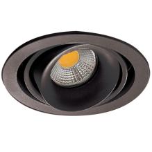 Встраиваемый светильник Donolux DL18615/01WW-R Shiny black/Black