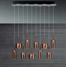 Подвесной светильник Axo Light Spillray SP SPIL 10 SPSPIL10BRCR12V